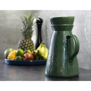 DZBANEK CERAMICZNY zielony 3 litry