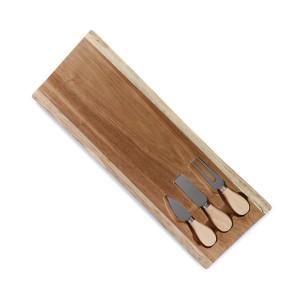 ZESTAW DO SERÓW drewniany...