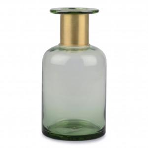 WAZON szklany zielony wys....