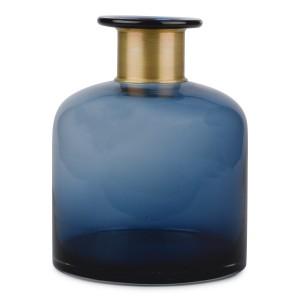 WAZON szklany niebieski...