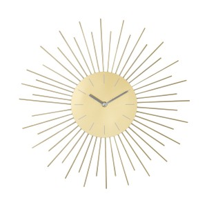 ZEGAR słońce złote śr. 42cm
