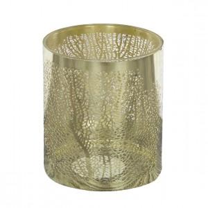 ŚWIECZNIK tealight złote...