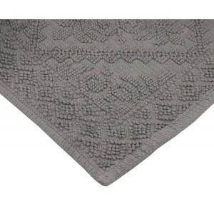 DYWAN dywanik łazienkowy SZARY 80x50cm
