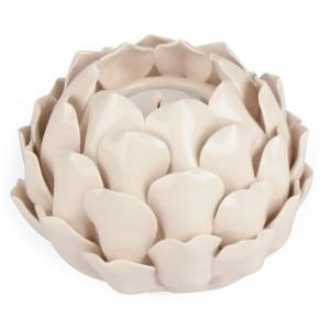 ŚWIECZNIK KWIAT ceramiczny...