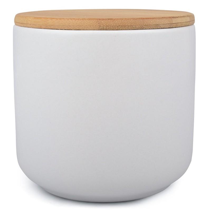 SŁOIK pojemnik ceramiczny biały 800ml