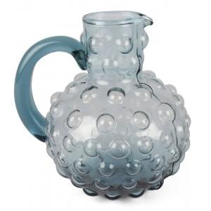 DZBANEK szklany niebieski...