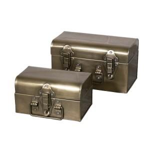 KOMPLET pudełek styl retro...