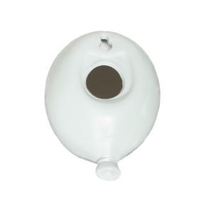 DEKORACJA balon ceramiczny zielony 12cm