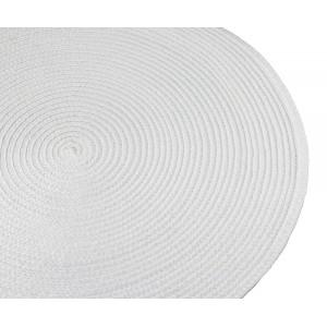 PODKŁADKA tablet śnieżna biel śr. 38cm