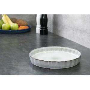 PATERA do ciasta Hedda, szara śr. 28cm