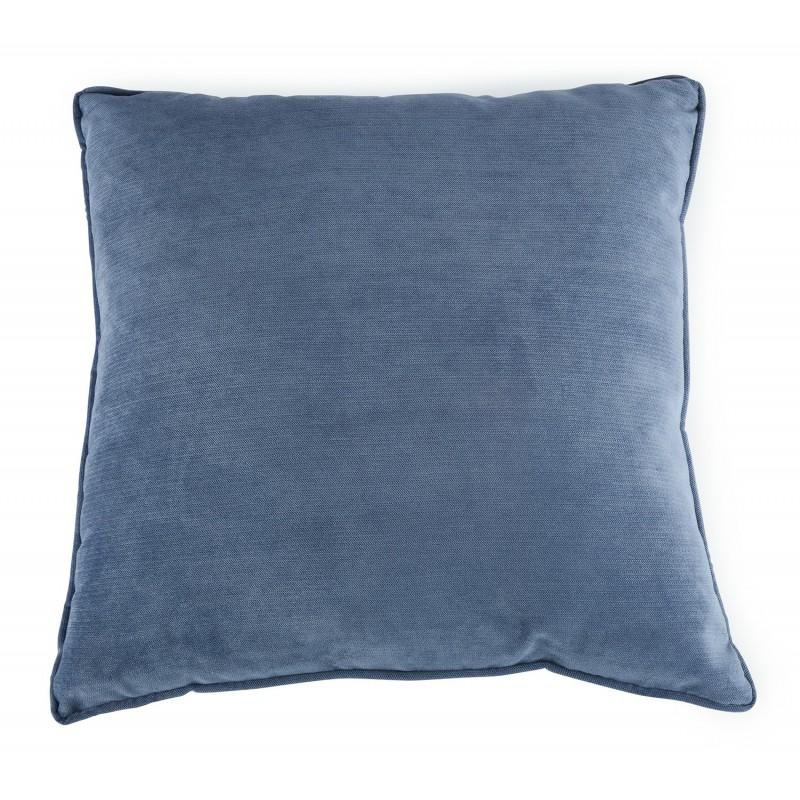 POSZEWKA na poduszkę niebieska 45x45cm
