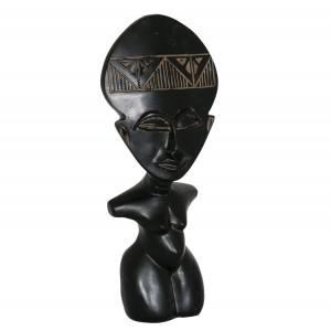FIGURKA styl inków, czarna