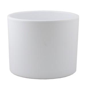 BIAŁA DONICA ceramika śr. 17cm