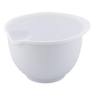 MISKA z przykrywką biała 2L