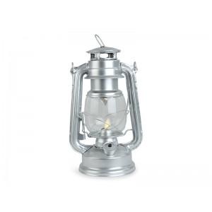 LAMPA LED SREBRNA metalowa...