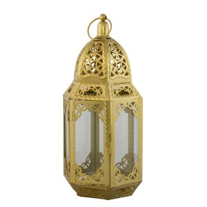 LAMPION STYL RETRO złoty