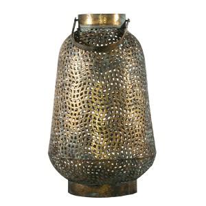 LAMPION STYL RETRO złoty XL