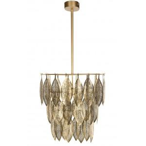 LAMPA LUMMIG sufitowa złota XL