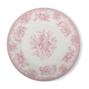 TALERZ ROSE deserowy różowy