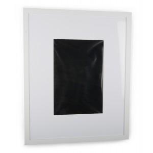 RAMKA WISZĄCA biała 53x43cm