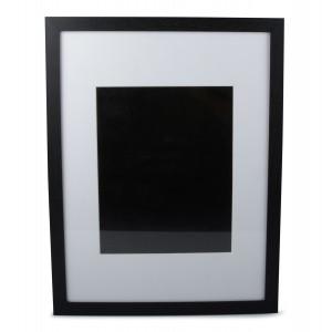RAMKA WISZĄCA czarna 43x33cm