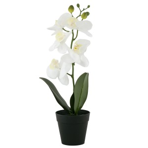 Sztuczna Orchidea w doniczce