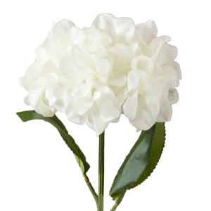 SZTUCZNA HORTENSJA biała 56cm