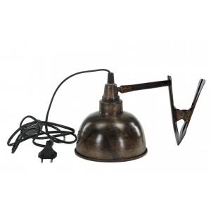 LAMPA z klipsem RETRO śr. 14cm