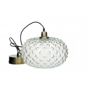 LAMPA wisząca PEARL szklany...