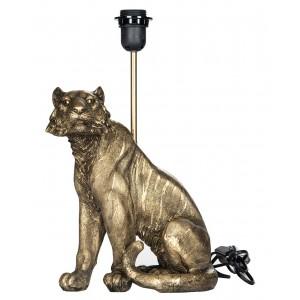 LAMPA stołowa TYGRYS złota