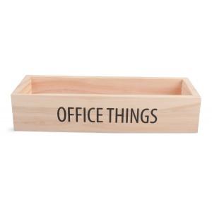 ORGANIZER biurowy DREWNO...