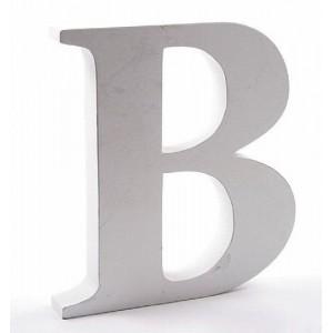 """LITERA """"B"""" BIAŁA"""