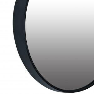 LUSTRO okrągłe METALOWE zwężana rama 40cm