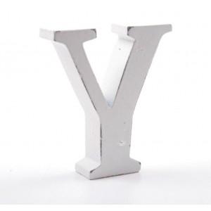 """LITERA """"Y"""" BIAŁA"""