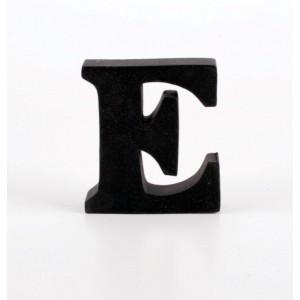 """LITERA """"E"""" CZARNA"""