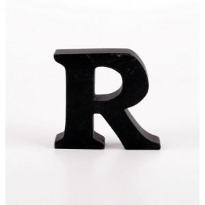 """LITERA """"R"""" CZARNA"""
