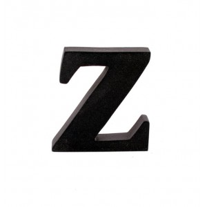 "LITERA ""Z"" CZARNA"