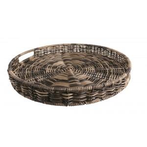 TACA KUCHENNA okrągła zebra 35cm