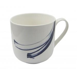 KUBEK ceramiczny biały XL