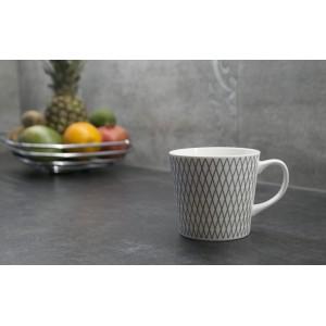 KUBEK ceramiczny biały 500ml