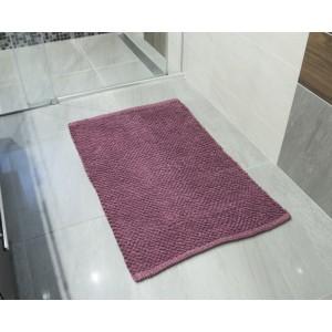 DYWAN dywanik łazienkowy BORDOWY 90x60cm