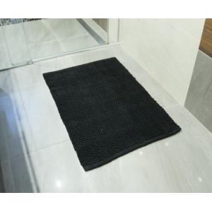 DYWAN dywanik łazienkowy CZARNY 90x60cm
