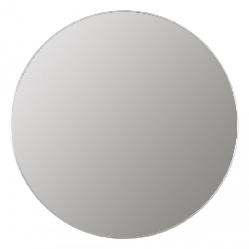 LUSTRO OKRĄGŁE aluminiowowe 100cm SREBRNE