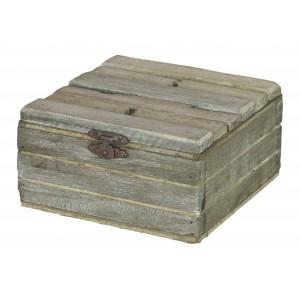 PUDEŁKO  NA DROBIAZGI drewniane 12x12cm