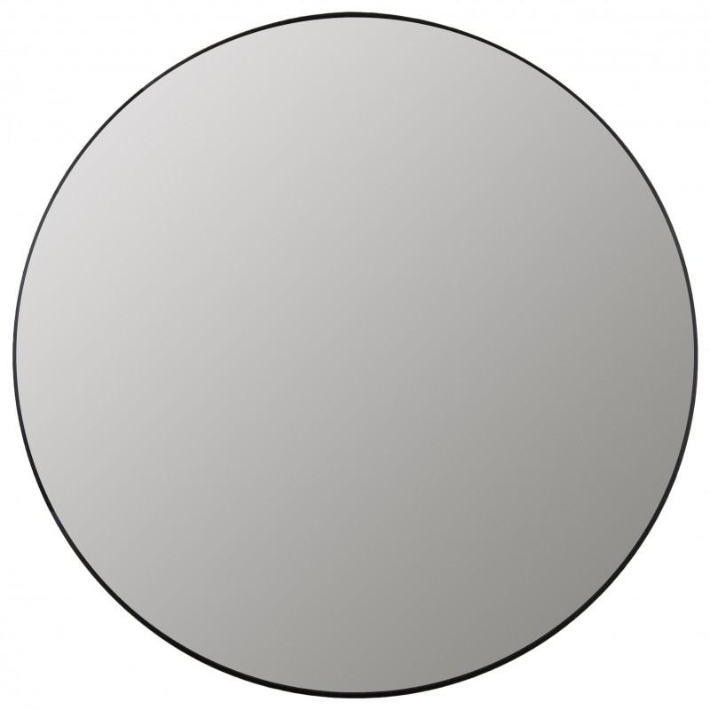 LUSTRO OKRĄGŁE aluminiowowe 100cm CZARNE