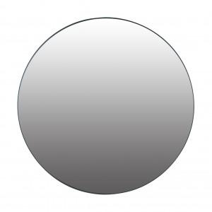 lustro ścienne okrągłe metalowe 60cm czarne